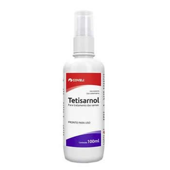 Tetisarnol Sarnicida Coveli 100ml  - Brasília Pet