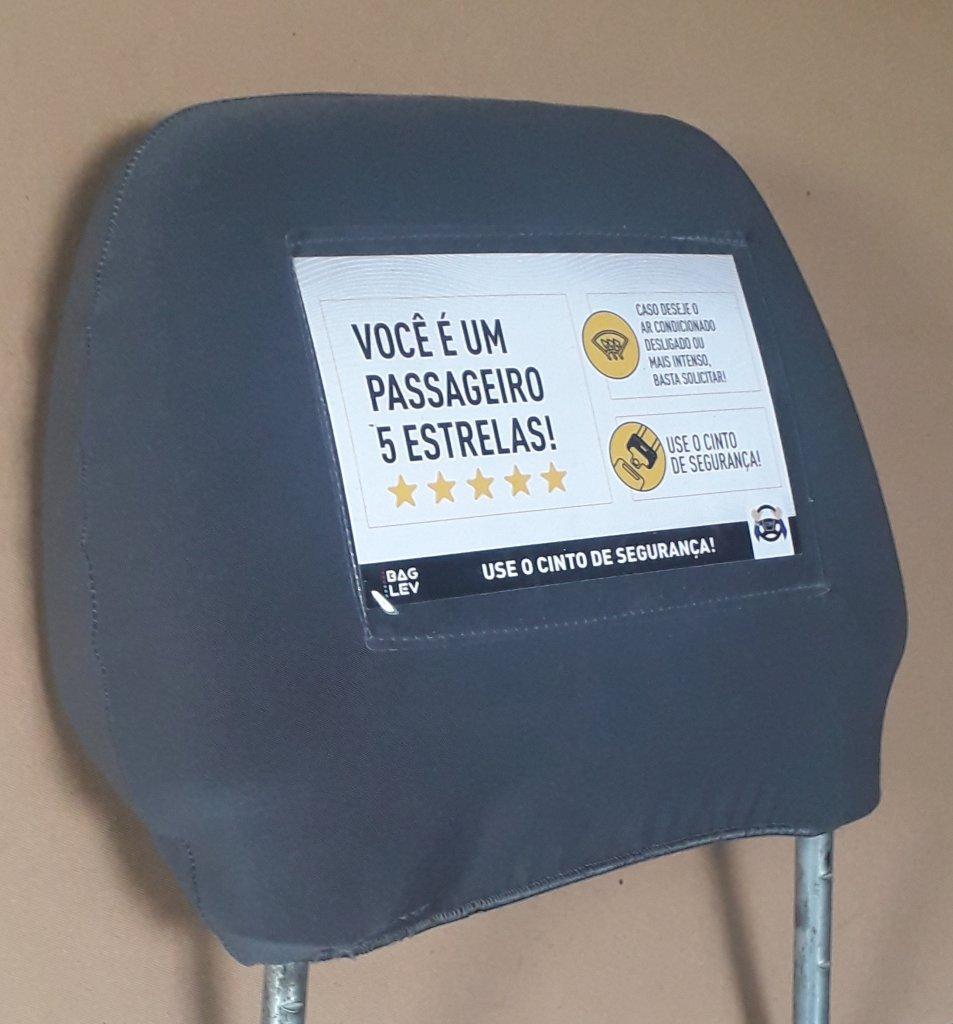 10 Unidades - Capa para Encosto de Cabeça de Banco de Carro