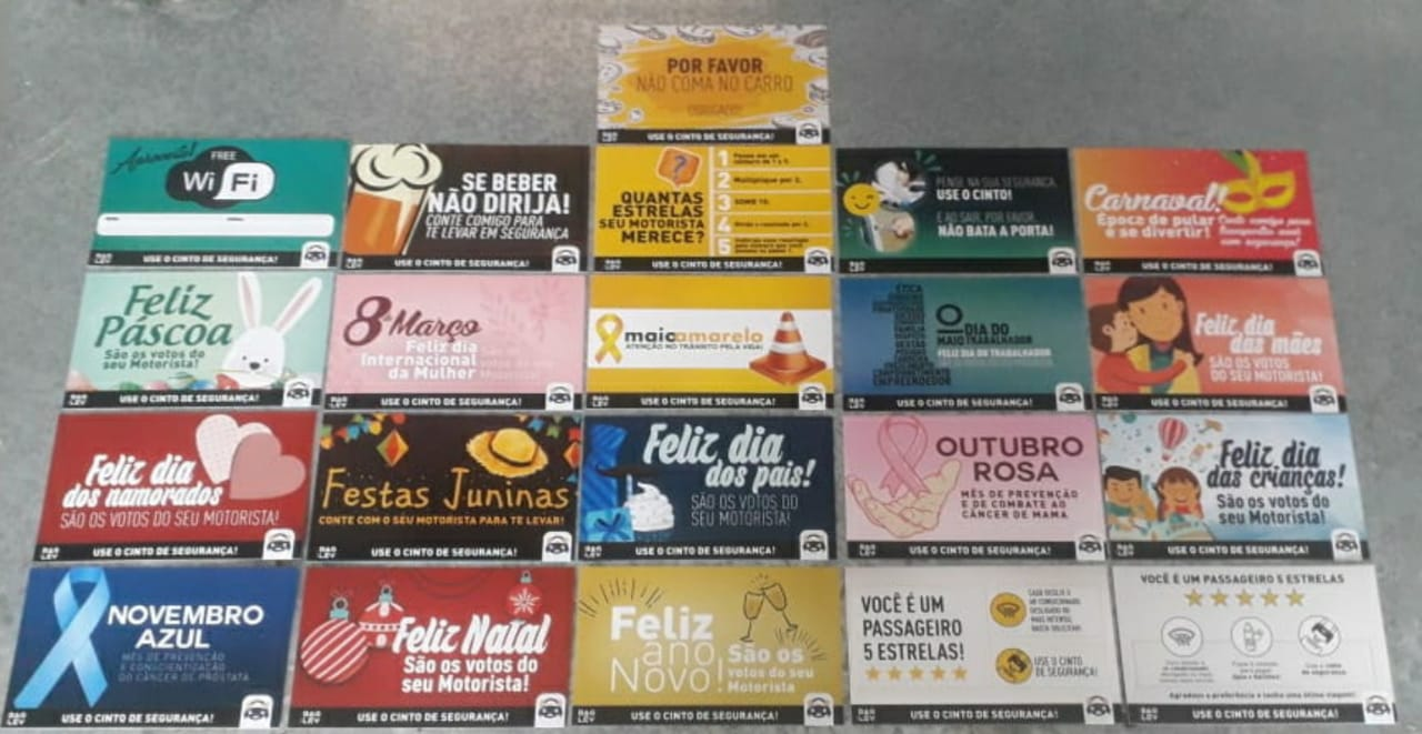 BAGLEV - 10 KIT CARDS (Cada Kit acompanha 20 cartões informativos/comemorativos) - NÃO ACOMPANHA A TOUCA IMAGEM MERAMENTE ILUSTRATIVA
