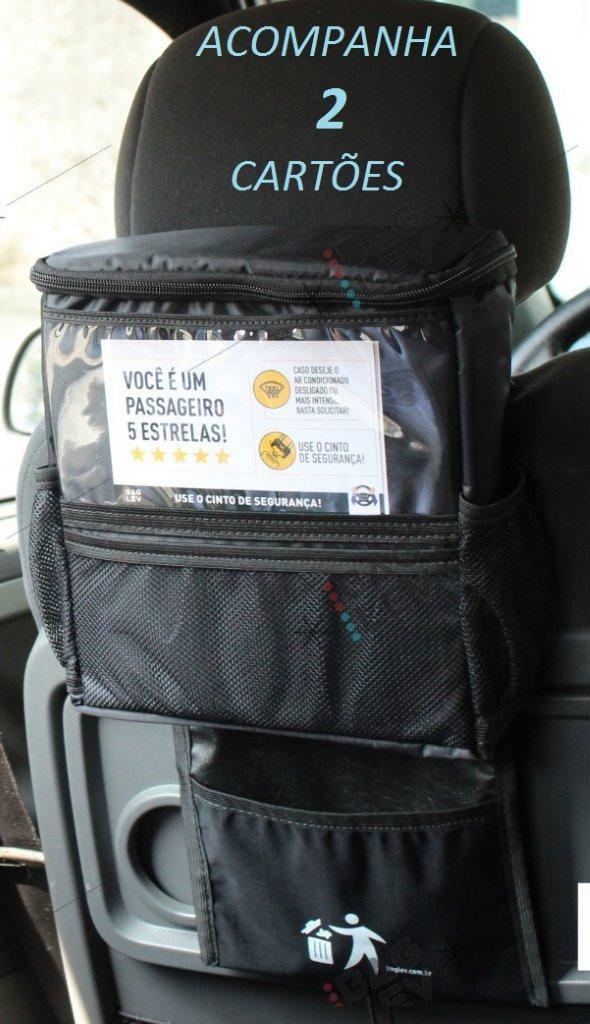 Bolsa Térmica TOP para Banco de Carro com 1 Gelo Gel - Bag Lev