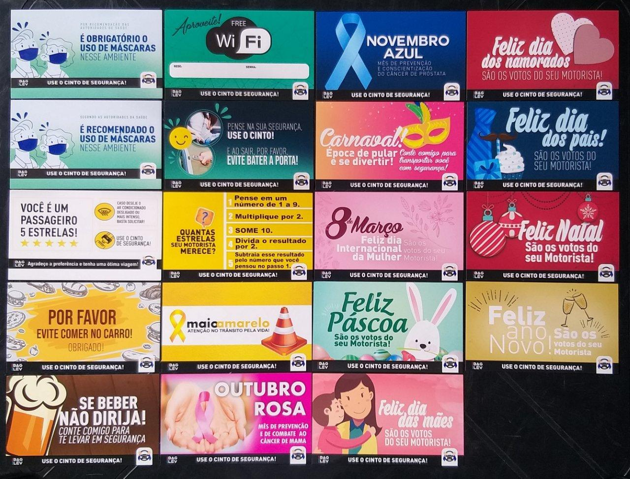 BAGLEV - Combo 1 - Bolsa Térmica TOP p/ Banco Carro + 1 Gelo Gel + 1 Capa Universal p/ Cabeceira + 1 Kit c/ 20 Informativos