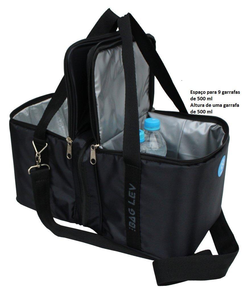 Bag Duo - Bolsa Térmica Para Quente e Frio, Compartimentos Separados - Bag Lev
