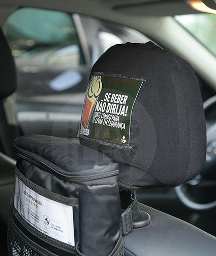Combo 2 - Bolsa térmica para carro + 2 Gelos gel + 2 Capas para cabeceira + 1 Kit com 19 informativos