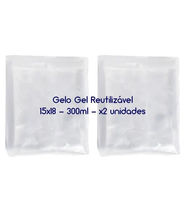 Gelo Gel Congelante Reutilizável 2 Unidades