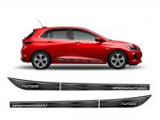 Friso Adesivo Novo Onix Hatch 2020 R-Design Cinza