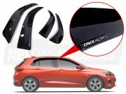 Calha De Chuva Com Escrita Em Alto Relevo Chevrolet Novo Onix Hatch 2020 2021