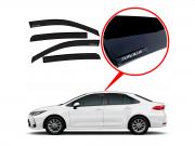 Calha De Chuva Com Escrita Em Alto Relevo Toyota Corolla 2020