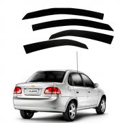 Calha De Chuva Novo Design Chevrolet Gm Corsa  (Inativo)