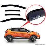 Calha De Chuva Com Escrita Em Alto Relevo Renault Captur