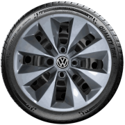 Calota Aro 14 Prata Grafite Volkswagen Gol Até G5 G112Ptg