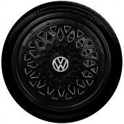 Calota Aro 14 Preta Volkswagen G601Pob
