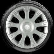 Calota Aro 14 Renault Novo Sandero Clio Novo Logan 2014 2015 2016 2017 G086