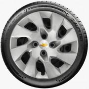 Calota Aro 15 Chevrolet Gm Onix Agile Astra Cobalt Meriva G195u