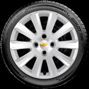 Calota Aro 15 Chevrolet Onix Prisma Cobalt Montana G018