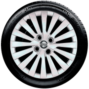 Calota Aro 15 Nissan Versa March Tiida G242