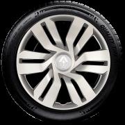Calota Aro 15 Renault Novo Sandero Clio Novo Logan 2016 2018 2020 G120