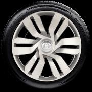 Calota Aro 15 Toyota Etios Hatch E Sedan 2016 2018 2020 G120