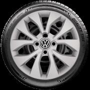 Calota Aro 15 Volkswagen Gol Voyage Saveiro Parati G375
