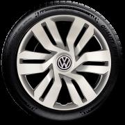 Calota Aro 15 Volkswagen Saveiro Voyage Gol Parato G3 G4 G5 G120