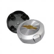 Calota Centro Miolo De Roda Trooper prata para roda GM Aro 14/15