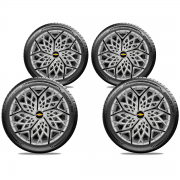 Calota Elitte 4pçs Aro 13 Corsa Classic Celta E3052J