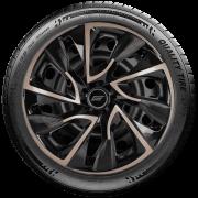 Calota Esportiva Aro 13 Elitte Universal Black Gold E3019