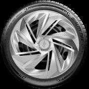 Calota Esportiva Aro 14 Elitte Universal Prata Linha Nitro Lc215
