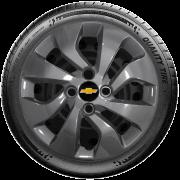Calota Grafite Aro 14 Chevrolet Novo Onix E Novo Prisma G373Gft