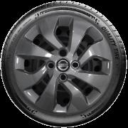 Calota Grafite Aro 14 Nissan March Versa G373Gft