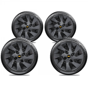 Calota Grafite Jogo 4Pçs Gm Corsa Classic Onix Aro 14 G133Gftj