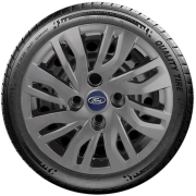 Calota Grafite Mod. Original Aro 14 Ford Nova Ka Fiesta Tocam Focus G344Gft