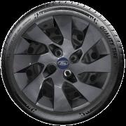 Calota Grafite Aro 14 Ford Novo Ka Fiesta Focus G133Gft