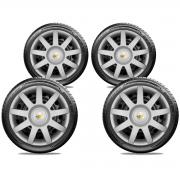 Calota Jogo 4Pçs Chevrolet Corsa Celta Classic Aro 14 G873J