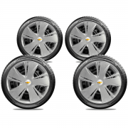 Calota Jogo 4Pçs Chevrolet Corsa Classic Wind Aro 14 G451J