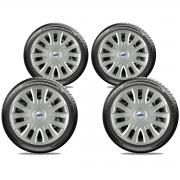 Calota Jogo 4Pçs Ford Fiesta Focus Ka Aro 14 G083J