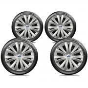 Calota Jogo 4Pçs Ford Fiesta Focus Ka Aro 14 G136J