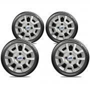 Calota Jogo 4Pçs Ford Fiesta Ká Escort Aro 13 G124J