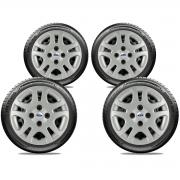 Calota Jogo 4Pçs Ford Fiesta Rocam Focus Novo Ka Aro 15 G026J