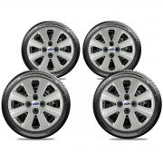 Calota Jogo 4Pçs Ford Ká Fiesta Focus Aro 15 G030J