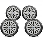 Calota Jogo 4Pçs Ford Ká Fiesta Focus Aro 15 G242J