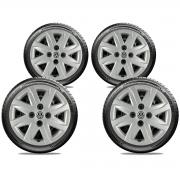 Calota Jogo 4Pçs Volkswagen Gol Saveiro Parati G2 G3 G3 Aro 14 G048J