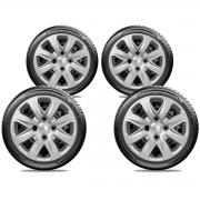 Calota Jogo 4Pçs Hyundai Hb20 Hb20S 2013 A 2020 Aro 14 G340J