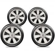 Calota Jogo 4Pçs Toyota Etios 2014 2019 Aro 14 G461J