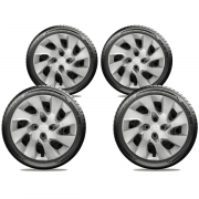 Calota Jogo 4Pçs Toyota Etios Corolla Aro 15 G195J