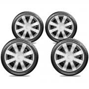 Calota Jogo 4Pçs Toyota Etios Corolla Aro 15 G875J