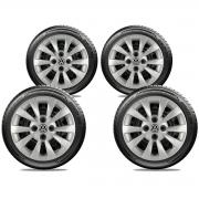 Calota Jogo 4Pçs Volkswagen Gol Até G5 Aro 14 G019J