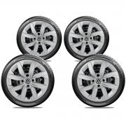 Calota Jogo 4Pçs Volkswagen Gol Voyage G6 G7 2014 A 2019 Aro 14 G249J