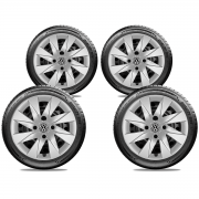 Calota Jogo 4Pçs Volkswagen Up Tsi Aro 13 G196J