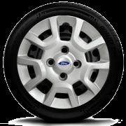 Calota Aro 13 Ford Fiesta Ká Escort G124