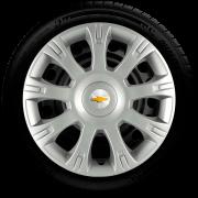 Calota Aro 14 Chevrolet Agile Prisma Corsa Classic Celta Meriva G086